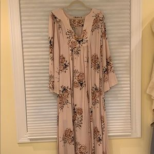 NWOT free people maxi dress